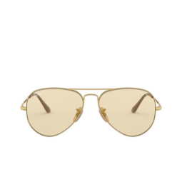 Ray-Ban® Sunglasses: Aviator Metal Ii RB3689 color Gold 001/T2.