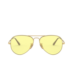 Ray-Ban® Sunglasses: Aviator Metal Ii RB3689 color Gold 001/T4.