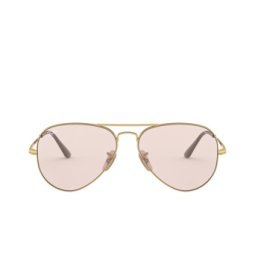 Ray-Ban® Sunglasses: Aviator Metal Ii RB3689 color Gold 001/T5.