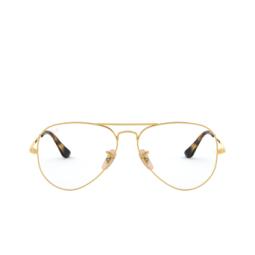 Ray-Ban® Eyeglasses: Aviator RX6489 color Arista 2500.