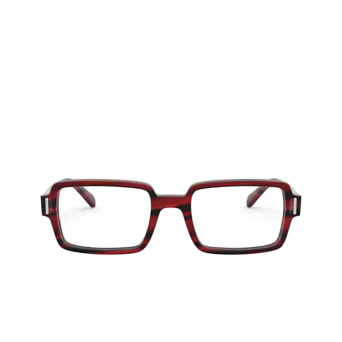 Ray-Ban® Rectangle Eyeglasses: Benji RX5473 color Striped Red 8054.