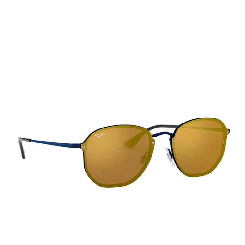 Ray-Ban® Square Sunglasses: Blaze Hexagonal RB3579N color 9038/7J.