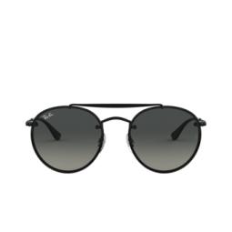 Ray-Ban® Sunglasses: Blaze Round Doublebridge RB3614N color Demi Gloss Black 148/11.
