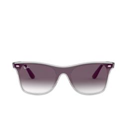 Ray-Ban® Sunglasses: Blaze Wayfarer RB4440N color Matte Trasparent 6355U0.