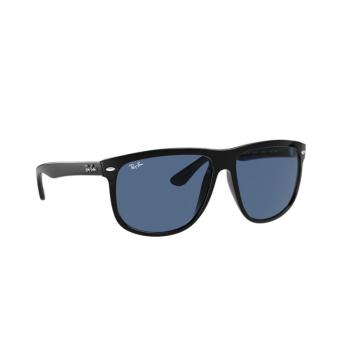Ray-Ban® Square Sunglasses: Boyfriend RB4147 color Black 601/80.