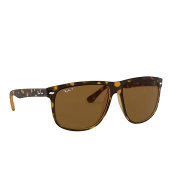 Ray-Ban® Square Sunglasses: Boyfriend RB4147 color Light Havana 710/57.