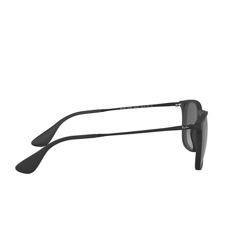 Ray-Ban® Square Sunglasses: Chris RB4187 color Rubber Black 622/8G.