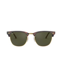 Ray-Ban® Sunglasses: Clubmaster RB3016 color Mock Tortoise / Arista W0366.