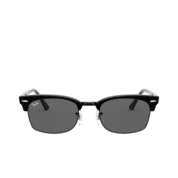 Ray-Ban® Sunglasses: Clubmaster Square RB3916 color Wrinkled Black On Black 1305B1.