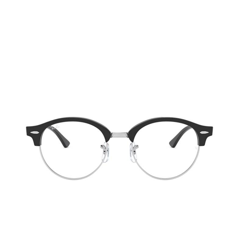Ray-Ban® Round Eyeglasses: Clubround RX4246V color Black 2000.