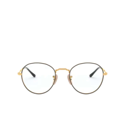 Ray-Ban® Eyeglasses: David RX3582V color Gold On Top Black 2946.