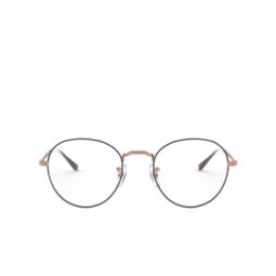 Ray-Ban® Eyeglasses: David RX3582V color Top Blue On Matte Copper 3035.