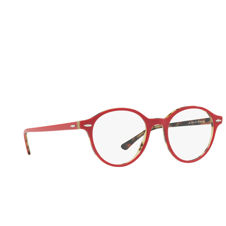 Ray-Ban® Round Eyeglasses: Dean RX7118 color 5714.