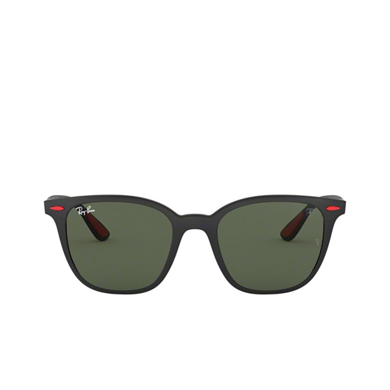 Ray-Ban® Square Sunglasses: Ferrari RB4297M color Matte Black F60271.