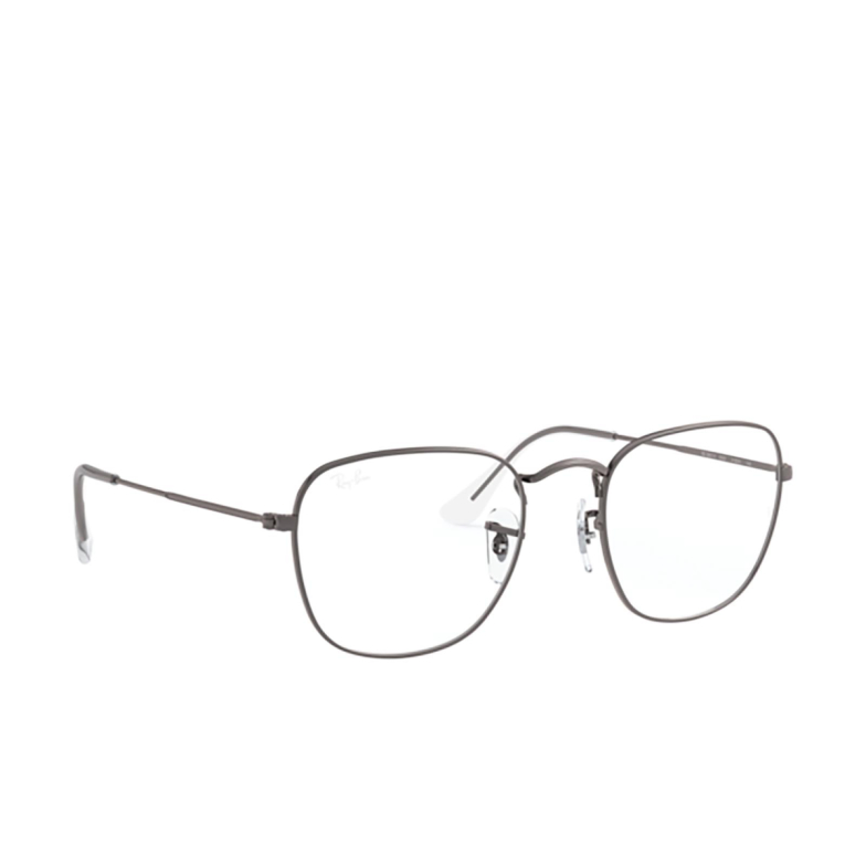Ray-Ban® Square Eyeglasses: Frank RX3857V color Gunmetal 2502.
