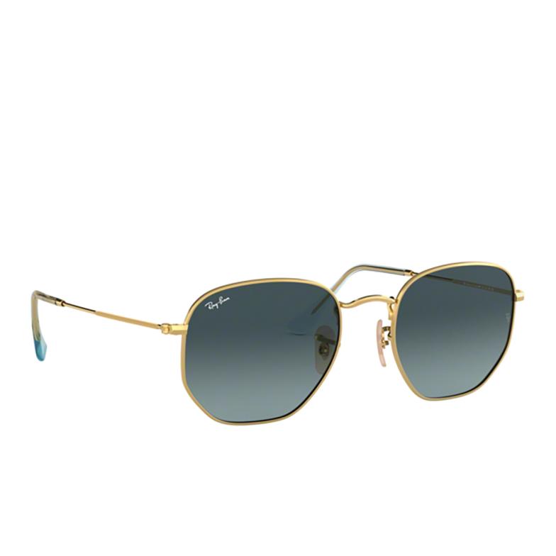 Ray-Ban® Irregular Sunglasses: Hexagonal RB3548N color Arista 91233M.