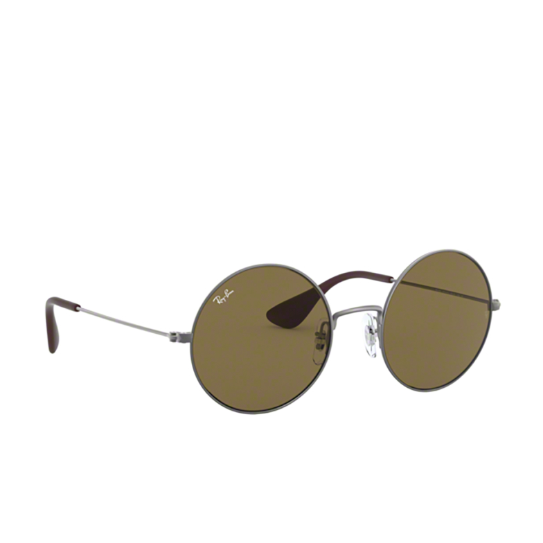 Ray-Ban® Round Sunglasses: Ja-jo RB3592 color Rubber Gunmetal 901573.