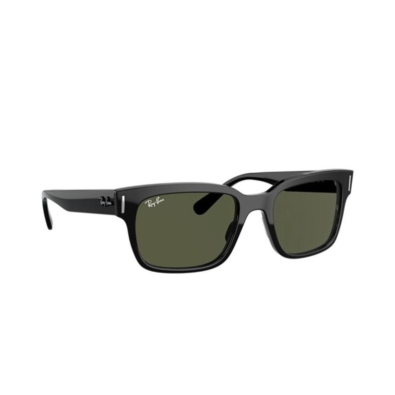 Ray-Ban® Square Sunglasses: Jeffrey RB2190 color Black 901/31.