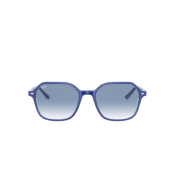 Ray-Ban® Sunglasses: John RB2194 color Blue On Vichy Blue / White 13193F.
