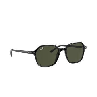 Ray-Ban® Square Sunglasses: John RB2194 color Black 901/31.