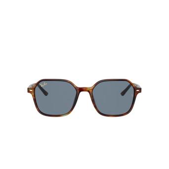 Ray-Ban® Square Sunglasses: John RB2194 color Striped Havana 954/62.