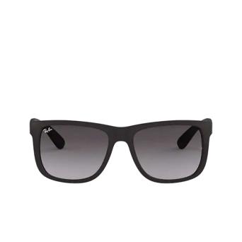 Ray-Ban® Square Sunglasses: Justin RB4165 color Rubber Black 601/8G.