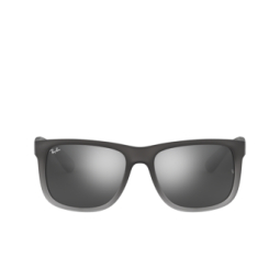 Ray-Ban® Sunglasses: Justin RB4165 color Rubber Grey/grey Transp. 852/88.