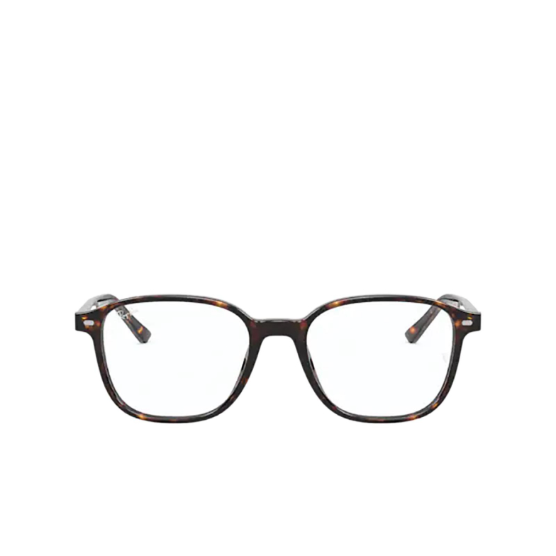 Ray-Ban® Square Eyeglasses: Leonard RX5393 color Havana 2012.