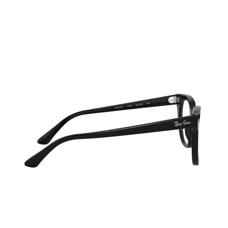 Ray-Ban® Square Eyeglasses: Meteor RX5377 color Black 2000.