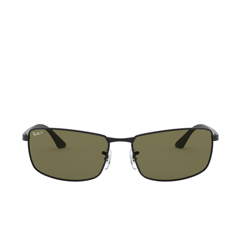 Ray-Ban® Rectangle Sunglasses: N/a RB3498 color Black 002/9A.