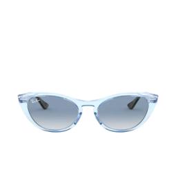 Ray-Ban® Sunglasses: Nina RB4314N color Transparent Light Blue 12833F.