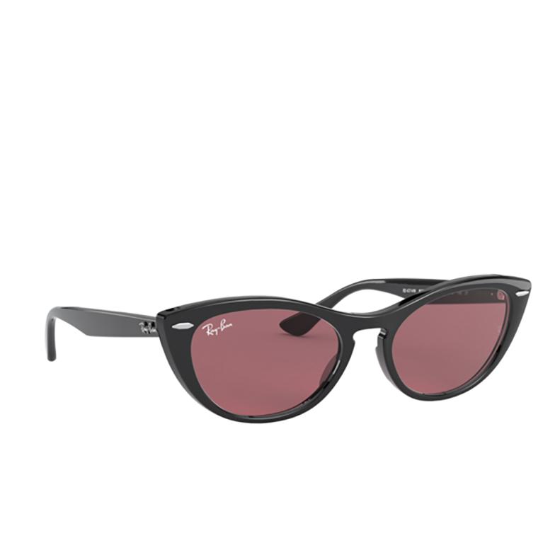 Ray-Ban® Cat-eye Sunglasses: Nina RB4314N color Black 601/U0.