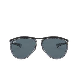 Ray-Ban® Sunglasses: Olympian Aviator RB2219 color Gradient Havana Grey 1286R5.