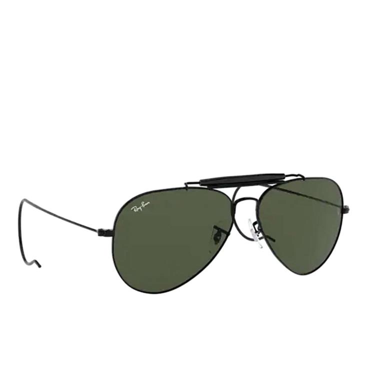 Ray-Ban® Aviator Sunglasses: Outdoorsman I RB3030 color Black L9500.