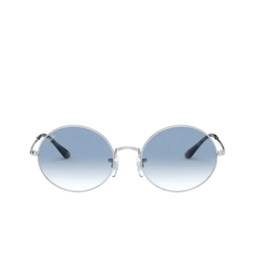 Ray-Ban® Sunglasses: Oval RB1970 color Silver 91493F.