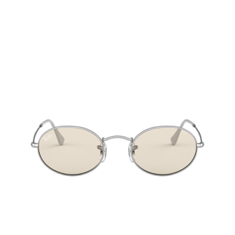 Ray-Ban® Oval Sunglasses: Oval RB3547 color Silver 003/T2.