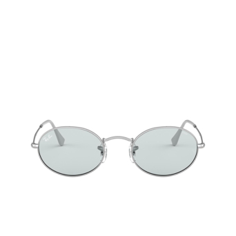 Ray-Ban® Oval Sunglasses: Oval RB3547 color Silver 003/T3.