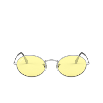 Ray-Ban® Oval Sunglasses: Oval RB3547 color Silver 003/T4.