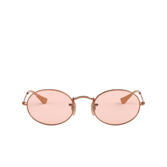 Ray-Ban® Oval Sunglasses: Oval RB3547N color Copper 91310X.