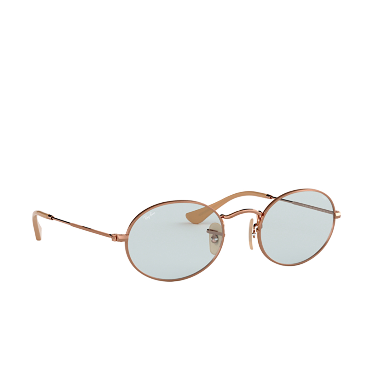 Ray-Ban® Oval Sunglasses: Oval RB3547N color Copper 91310Y.