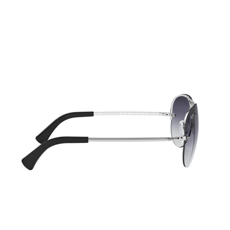 Ray-Ban® Aviator Sunglasses: RB3449 color Silver 003/8G.