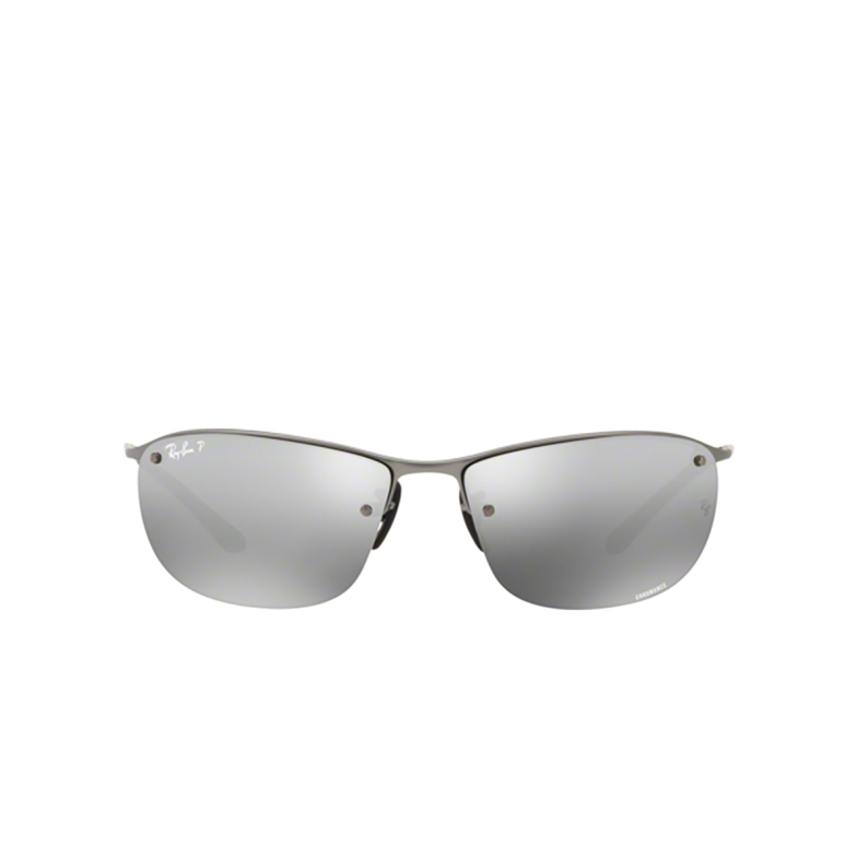 Ray-Ban® Rectangle Sunglasses: RB3542 color Matte Gunmetal 029/5J.