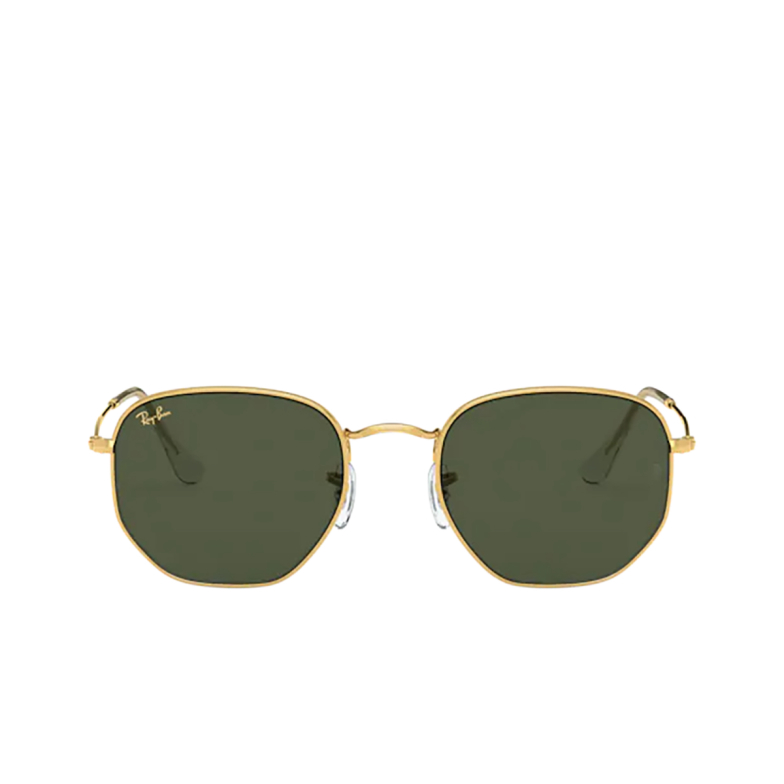 Ray-Ban® Irregular Sunglasses: RB3548 color Legend Gold 919631.