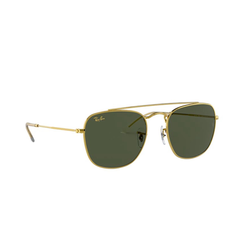 Ray-Ban® Square Sunglasses: RB3557 color Legend Gold 919631.