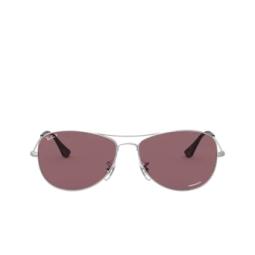 Ray-Ban® Sunglasses: RB3562 color Matte Silver 019/BC.