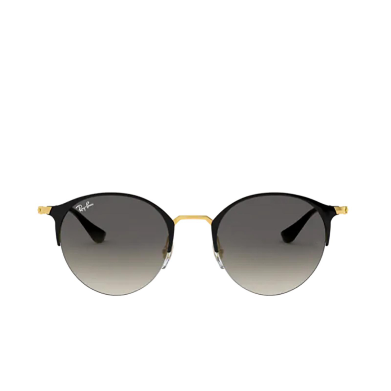 Ray-Ban® Round Sunglasses: RB3578 color Black On Arista 187/11.
