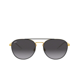 Ray-Ban® Sunglasses: RB3589 color Gold Top On Black 90548G.