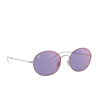 Ray-Ban® Oval Sunglasses: RB3594 color Silver On Top Bordeaux 9112D1.