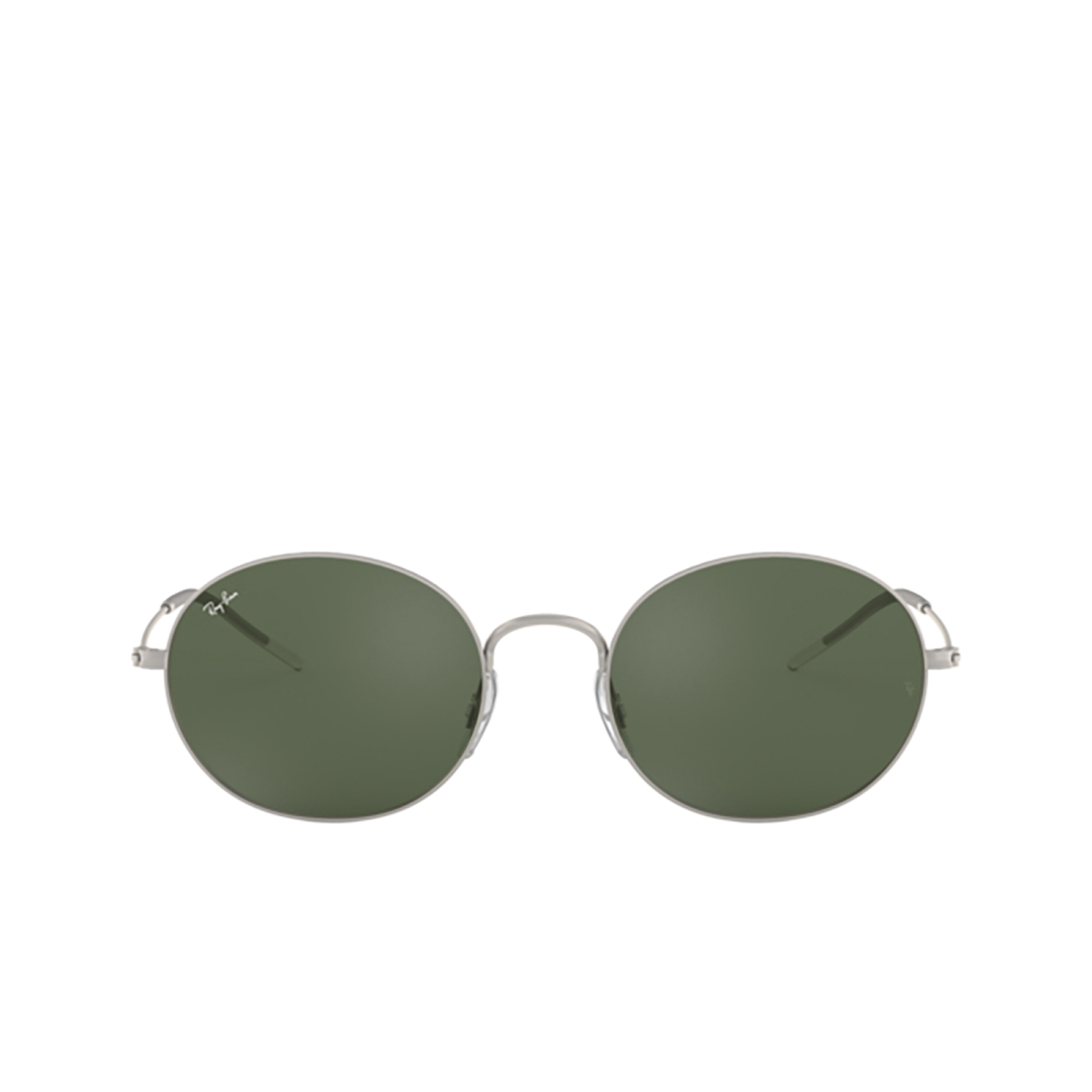 Ray-Ban® Oval Sunglasses: RB3594 color Rubber Silver 911671.