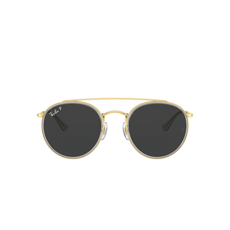 Ray-Ban® Round Sunglasses: RB3647N color Shiny Gold 921048.